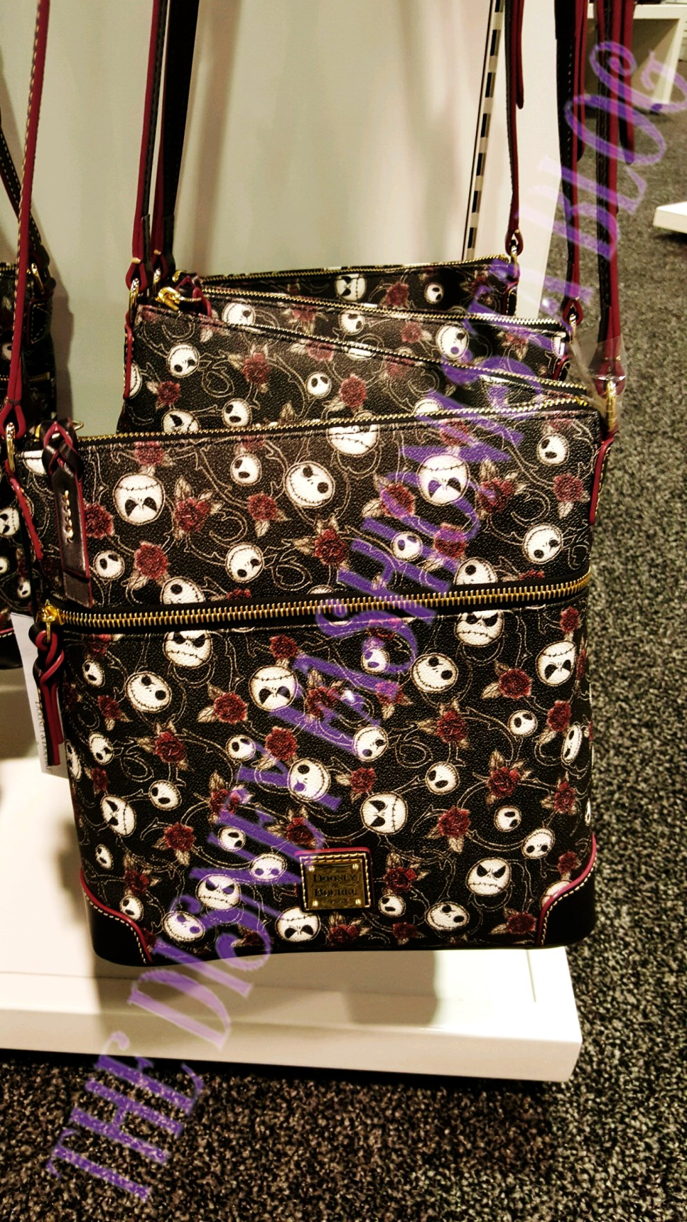 Nightmare Before Christmas Dooney & Bourke bags at D23 Expo 2017