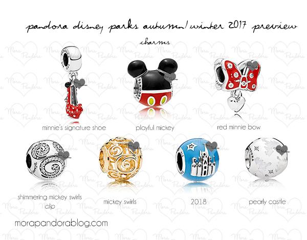 disney charms by pandora