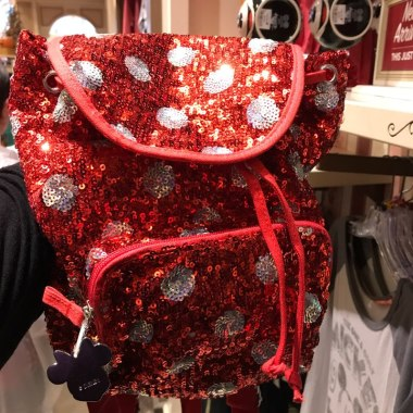Minnie Dot Sequined Backpack