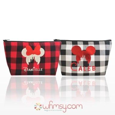 Disney Inspired Cosmetics Bags