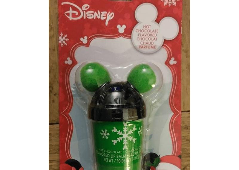 Mickey Hot Chocolate Lip Balms