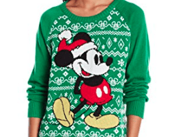 show your disney love at this years ugly christmas sweater party - Disney Christmas Sweaters