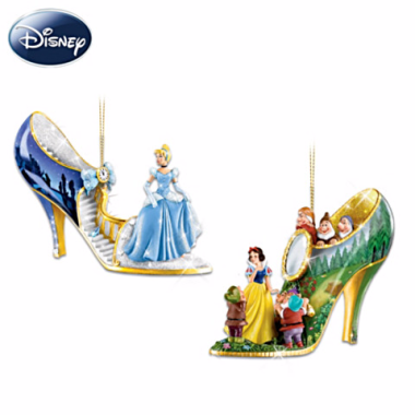Disney Shoe Ornament Collection