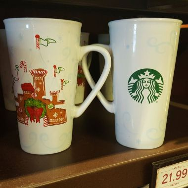 Holiday Starbucks Mug Available