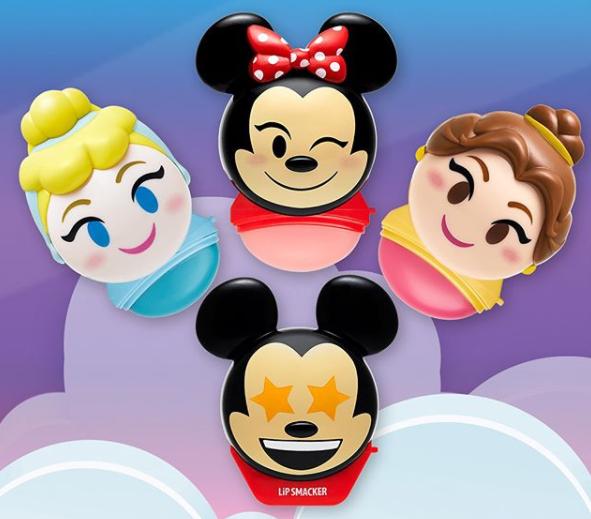 Lip Smacker Disney Emoji lip balms