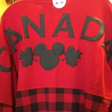 Disney Canada Spirit Jerseys