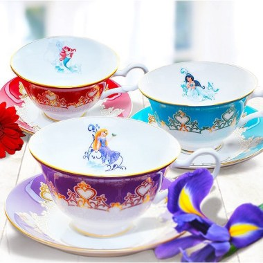 Bone China Disney Princess Tea Cups