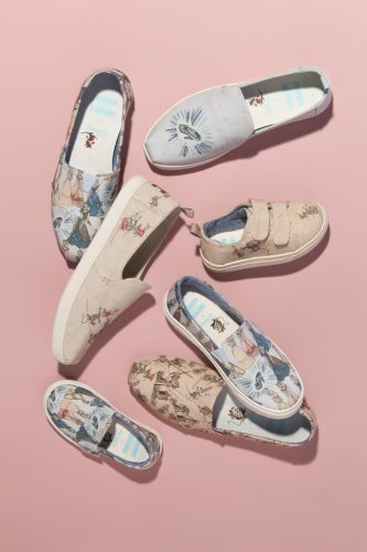 0a99ad2296b Back in February we talked about the exciting new Disney x Toms collection  to debut this summer. Now it looks like there are some beautiful images of  the ...
