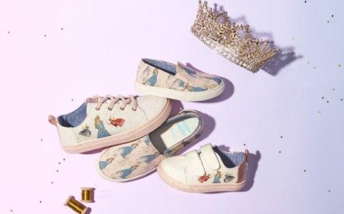 Disney Princess Toms Collaboration