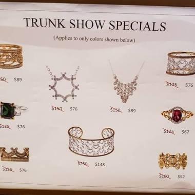 Rebecca Hook Trunk Show