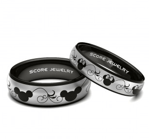 Add Disney Style To Your Marriage With Mickey And Minnie Wedding Bands