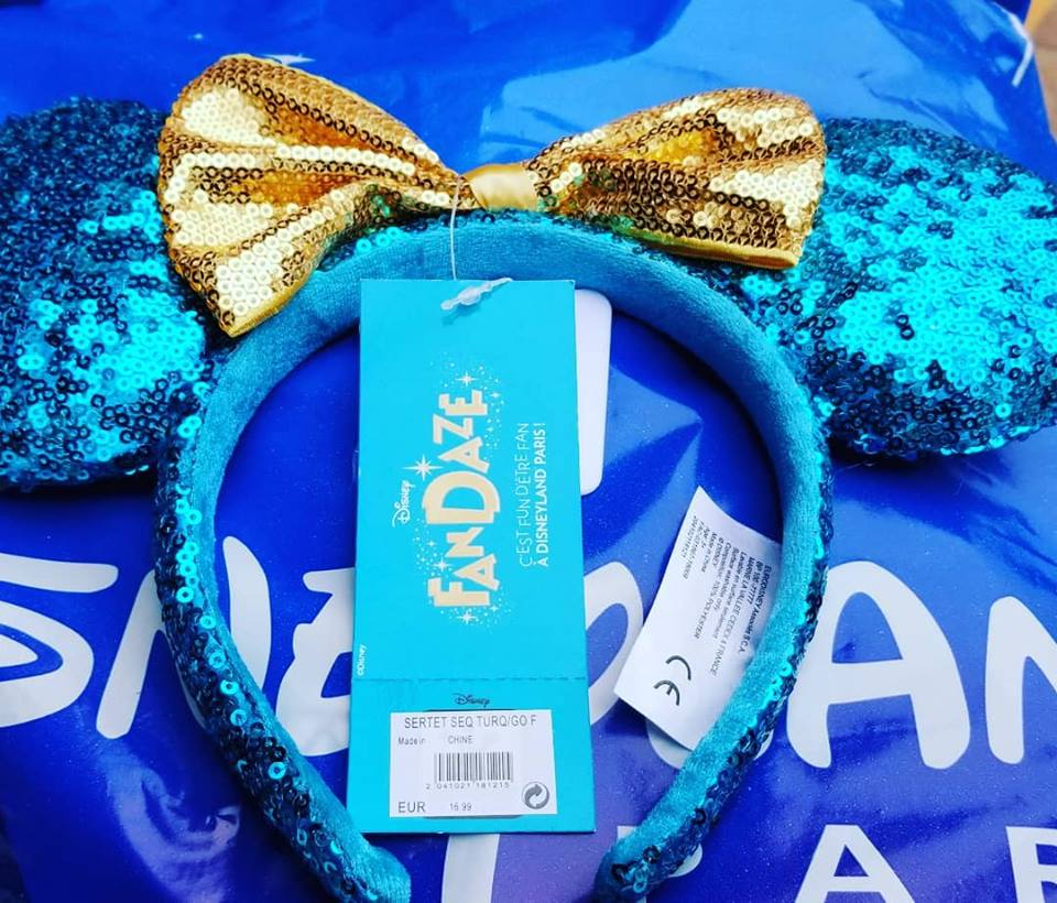 8edd83a439a0e Teal Minnie Mouse Ears and More from Disney FanDaze
