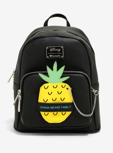 286b9cff262 You ll be the pineapple princess of the ball with this black backpack that  is perfect for your next beach day or family outing. This backpack is  inspired by ...