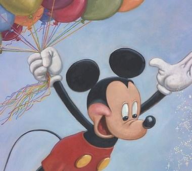 Mickey's 90th Birthday Portrait