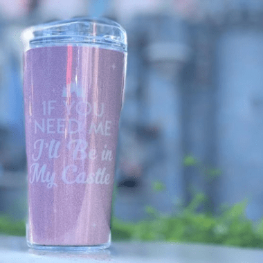 Disney Millennial Pink Travel Mug