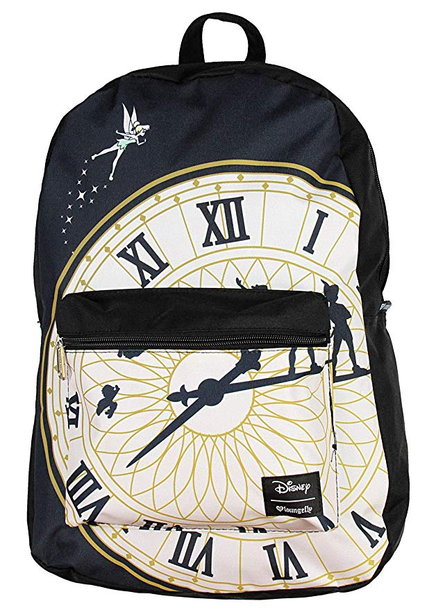 4776ffdaed2 Disney Discovery- Loungefly Peter Pan Clock Backpack