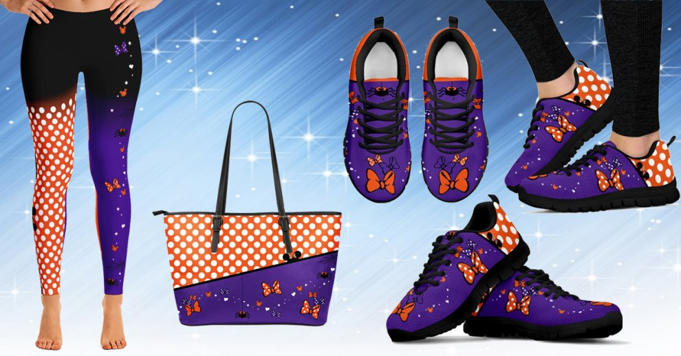 Halloween Minnie Mouse Leggings