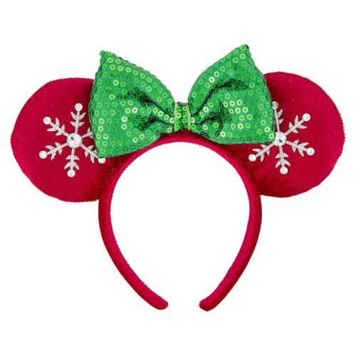 weve already gotten to check out the fabulous red velvet christmas minnie ears but they are worth taking another peek at i suspect these will be the must