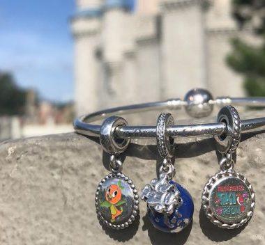 Disney Vacation Pandora Charms