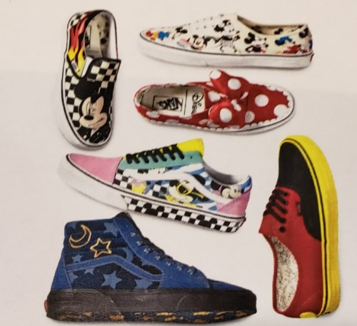 f8349b8b0c Vans is celebrating Mickey s 90th with a new Collection and it is being  released October 5th in stores.