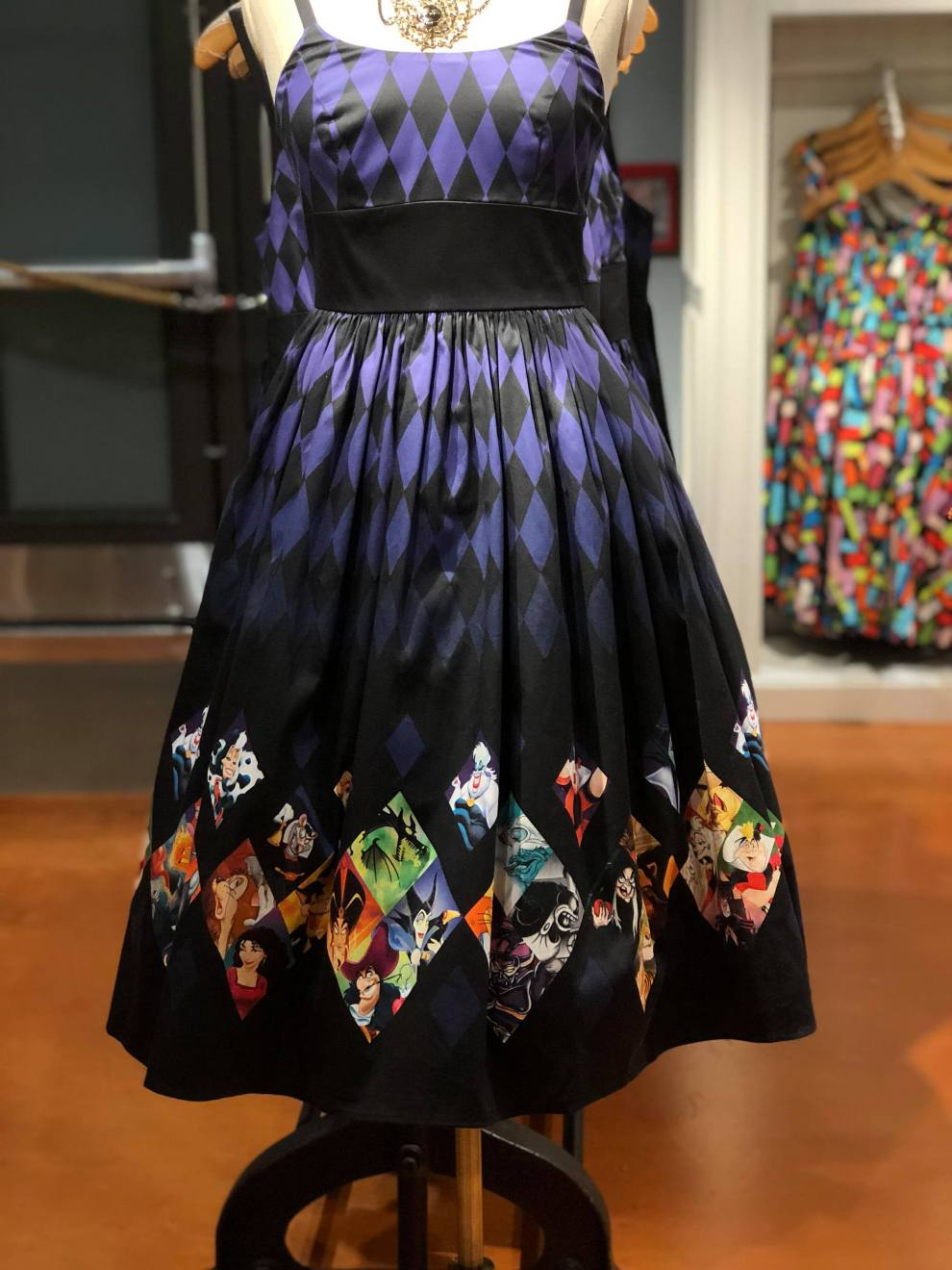 Disney Villains Dress From The Dress Shop In Disney Springs