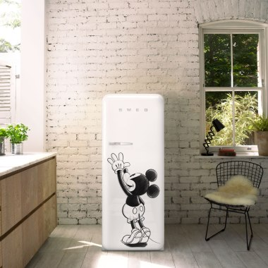 Smeg Mickey Mouse Refrigerator