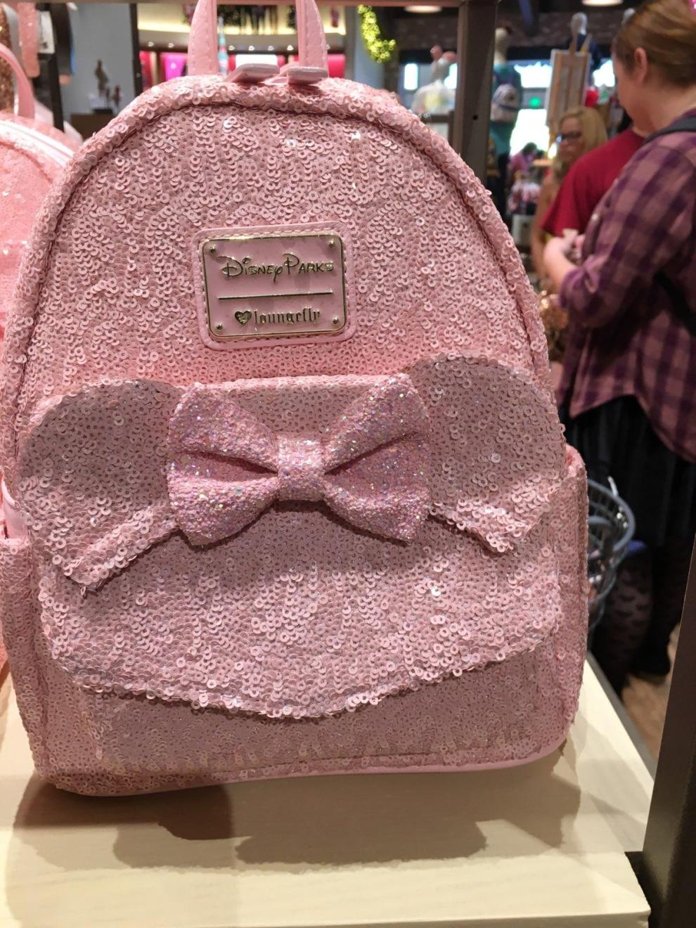 fe6f548ec9a Millennial Pink Sequined Backpacks Have Been Spotted!
