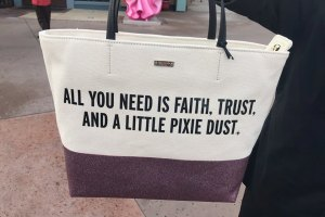 New Kate Spade Disney Quote Bags