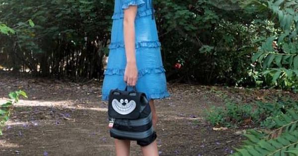 Midnight Cheshire Cat bag
