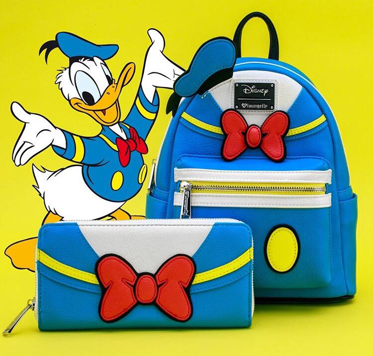 Donald Duck Loungefly Accessories