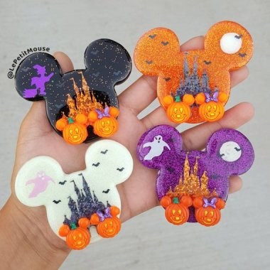 Disney Halloween Brooches