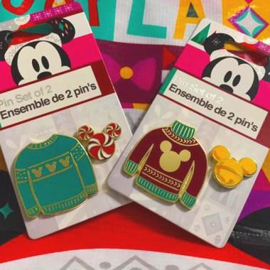 Holiday Sweater Disney Pins