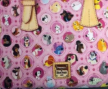 Pink Disney Dog Dooney
