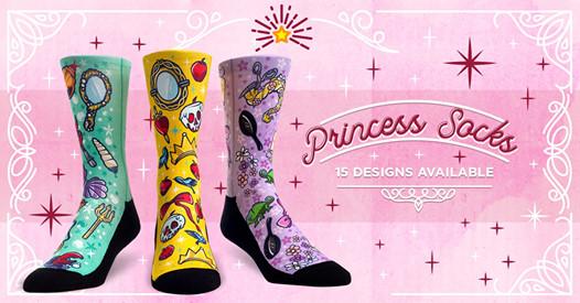 Rock 'Em Princess Socks