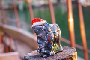 Holiday Elephant Tiki Mug
