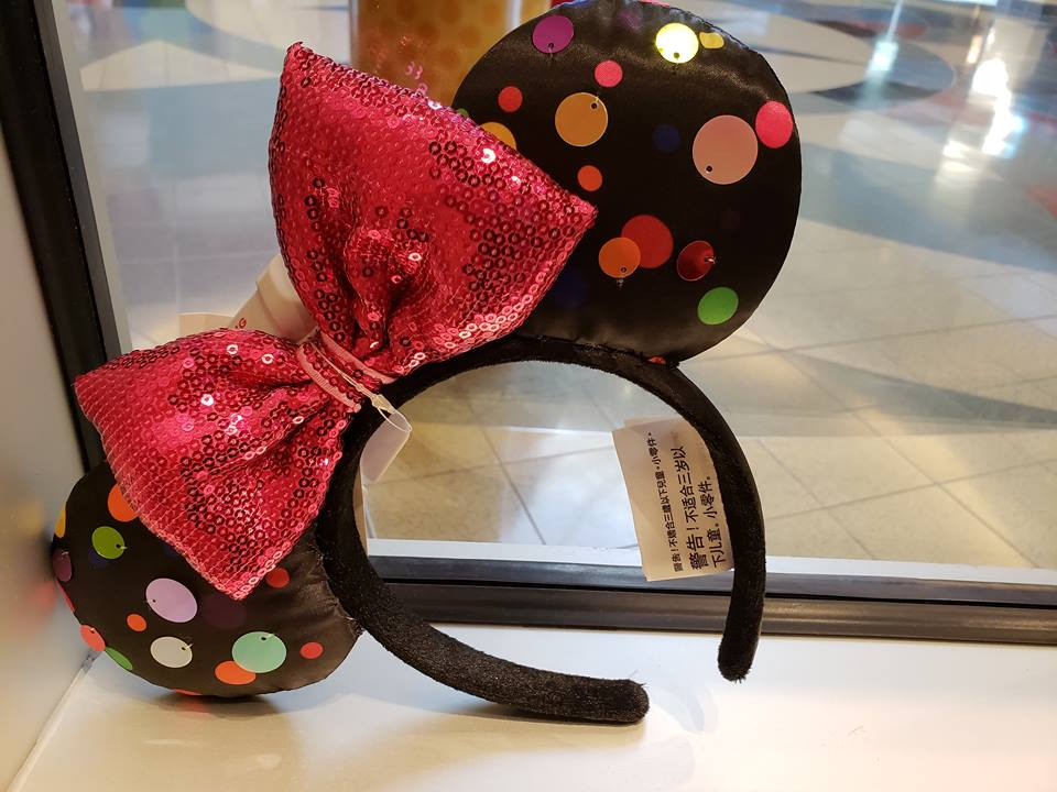 Paillettes Minnie Mouse Ears