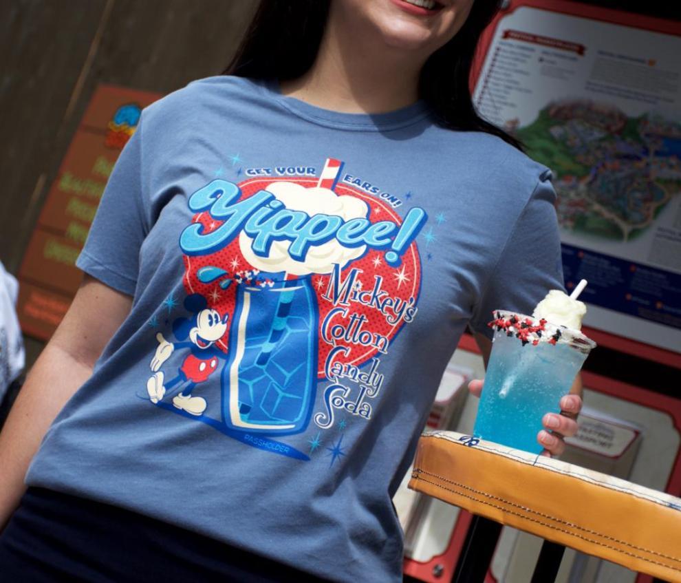 Disneyland AP Food And Wine Tee