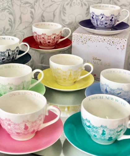Disney Princess Colour Story Tea Cups