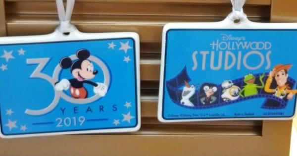 Hollywood Studios 30th Anniversary Merchandise