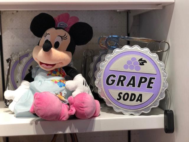 Grape Soda Badge Handbag