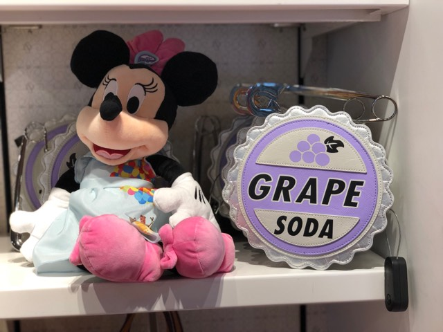Grape Soda Badge Handbag