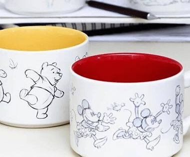 Disney Animation Sketch Mugs