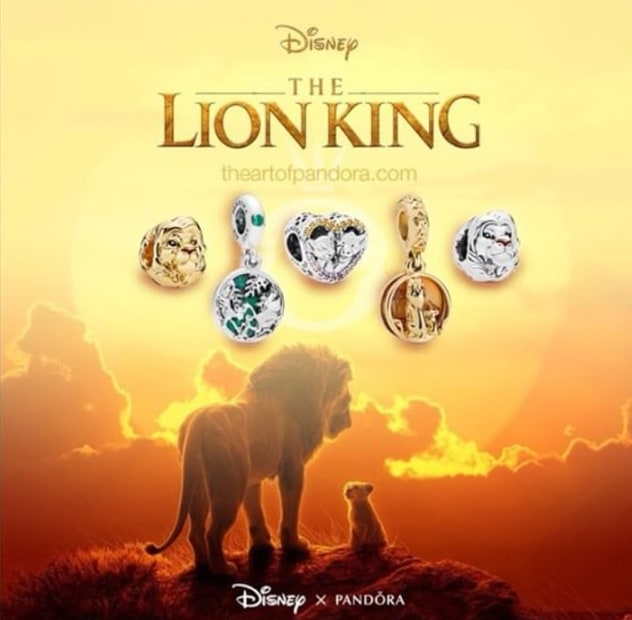 Pandora Lion King Collection Has Worry Free Style