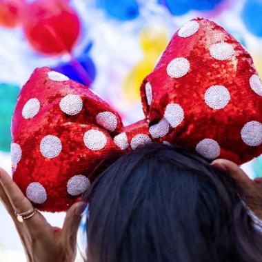 Minnie Oversized Bow Headband