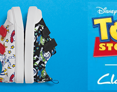 Clarks Kids x Toy Story Shoes