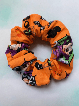 Mickey and Minnie Scrunchie