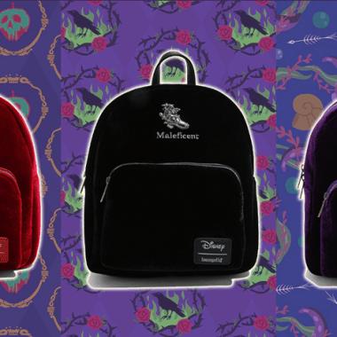 Disney Villains Velvet Backpacks