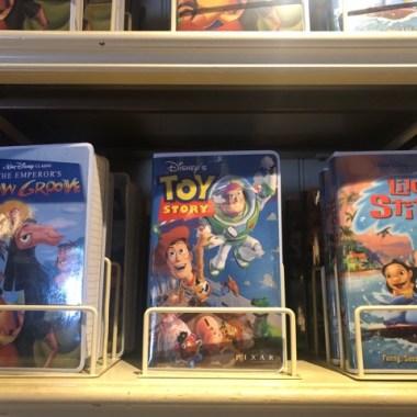 Vintage Disney VHS Notebooks