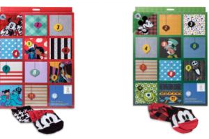 Disney Holiday Advent Sock Sets