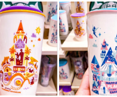 Disney Parks Starbucks Mugs